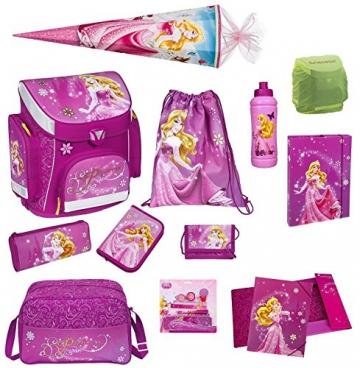 Disney Princess Schulranzen Set 19-tlg.mit Schultüte 85cm, Sporttasche, Regen-/Sicherheitshülle,Federmappe DPFI8251 -