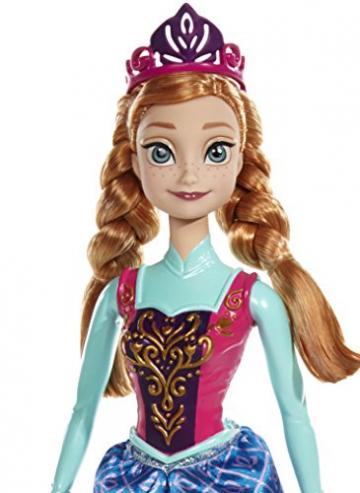Mattel Disney Princess BDK32 - Farbwechselzauber Anna Puppe -