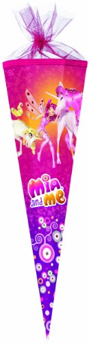 Mia and Me große Schultüte 85cm sechseckig Durchmesser ca 25cm 2014 pink -