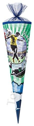 Nestler Schultüte Fußball Zuckertüte Schulanfang Einschulung Schule Fussball: Größe: 85 cm -