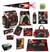 Star Wars Schulranzen Set 21tlg. Federmappe, Sporttasche, Schultüte 85cm, Schreibtischunterlage Scooli SWHZ8251 -