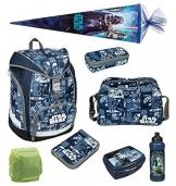 Star Wars Twixter Schulrucksack Set 8tlg. Brotdose Trinkflasche Sporttasche Schultüte 85cm Scooli SWLS7550 -