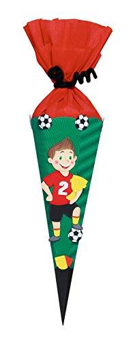 Ursus 9860003 - Schultüten Bastelset Mini Fußballer, 41 cm, bunt -